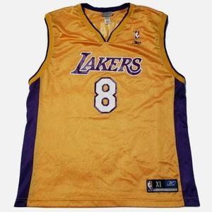 Vintage 2000's KOBE BRYANT #8 Los Angeles Lakers